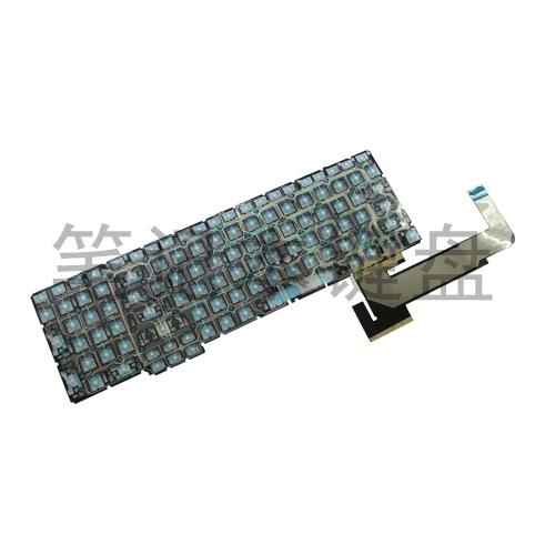 二键区防水笔记本键盘导电膜